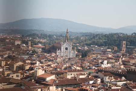 Cathedral of Santa Maria del Fiore, Cathedral in Florence Stock Photo