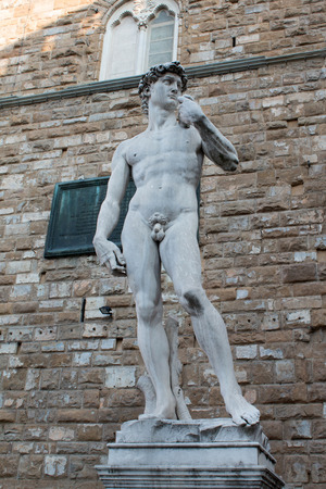 Statue of David in Florence