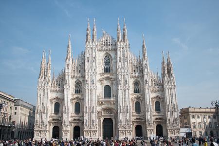 Duomo Milano, Church in Milan Editorial
