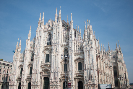 Duomo Milano, Church in Milan Stock Photo