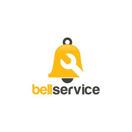 Bell Service Logo template designs vector illustration Illusztráció