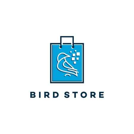 Bird Store Technology Logo template designs