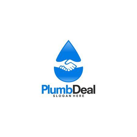 Plumb Deal logo designs vector