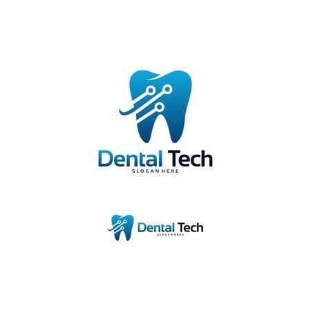 Dental Technology logo designs concept vector, Dental logo designs template