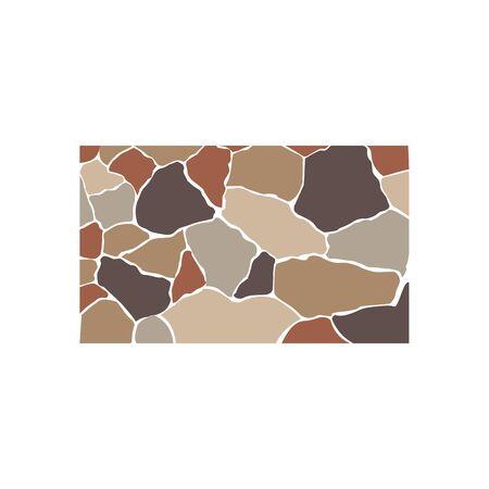 Stone texture, brick background texture Ilustracja