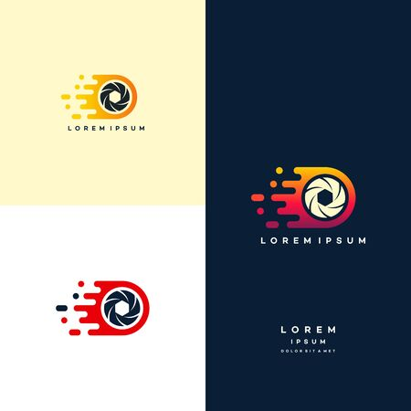 capture fast, fast lens, photography logo