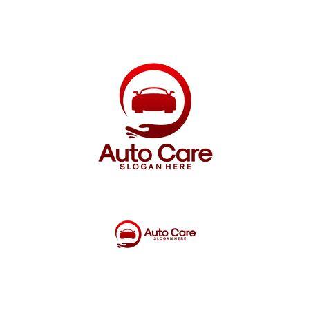Automotive Care logo designs vector illustration
