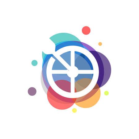 Colorful Target designs concept symbol