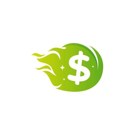 Fast Coin icon designs concept