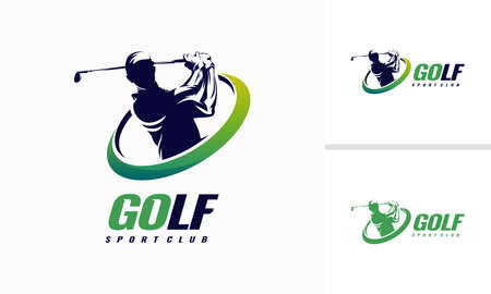 Golf Shield icon designs Vetores