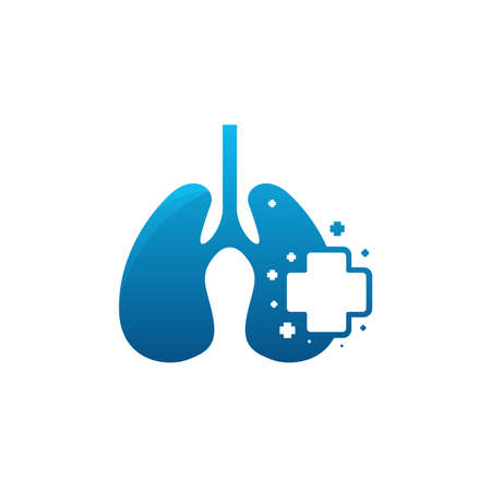 Lungs Care logo designs concept vector, Health Lungs logo designs template