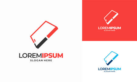 Phone Check logo designs concept vector, Safe Phone logo template, Logo symbol icon Illusztráció