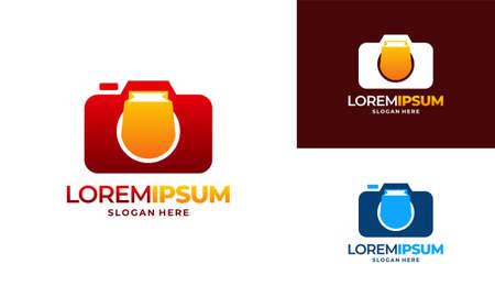 Camera Photography logo designs concept vector, Camera Store logo