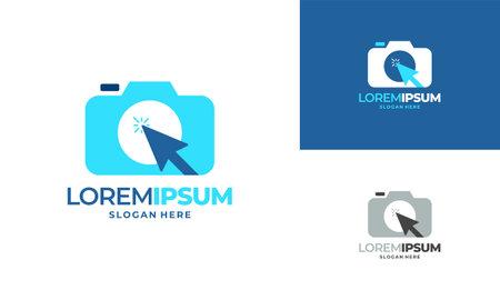 Camera Photography logo designs concept vector,