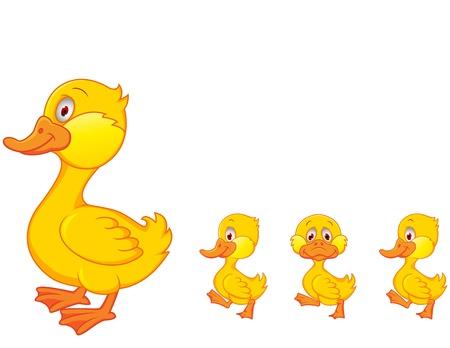 Bande dessinée de canard