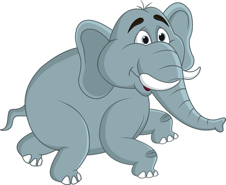 Elephant cartoon Stock Vector - 13394028