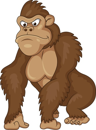 Gorilla cartoon  Stock Vector - 13394031
