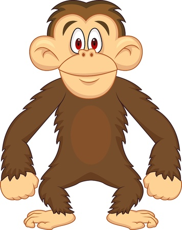 primacy: Chimpanzee cartoon