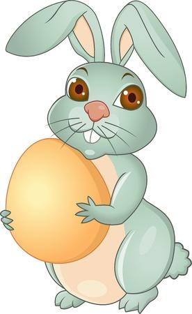 ester: Easter rabbit  Illustration