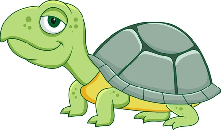 tortue de terre: Dessin anim� Tortue