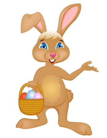 rabbit ears: Easter rabbit  Illustration