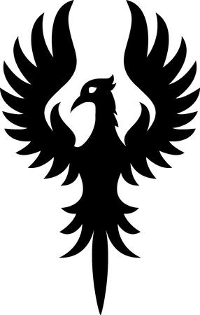 phoenix: Phoenix bird tattoo