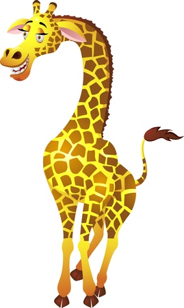 giraffe cartoon: Giraffe cartoon