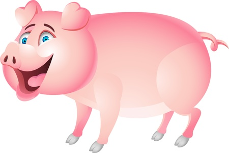 hog: Pig cartoon