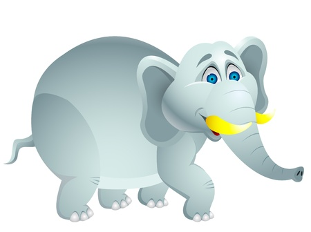 Elephant cartoon  Stock Vector - 13494830