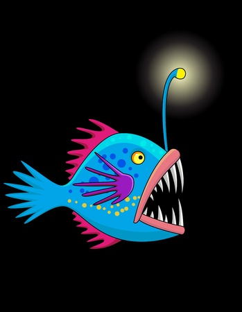 Deep sea fish  Stock Vector - 13494828