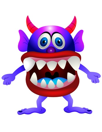 Scary monster Stock Vector - 13494849
