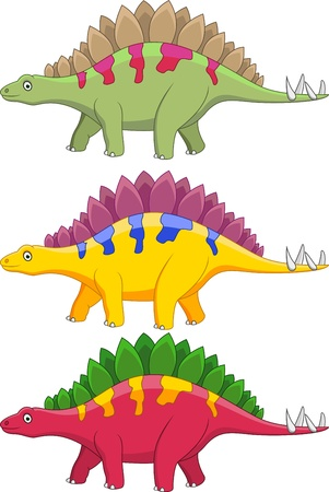 stegosaurus: Stegosaurus cartoon