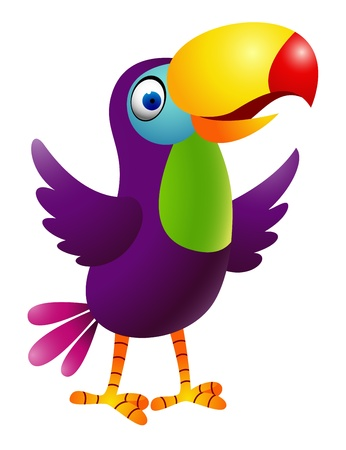 Toucan ptak