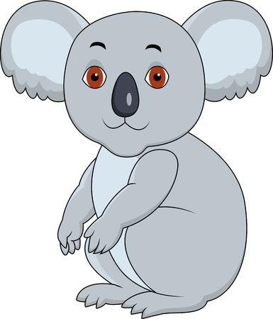 Koala cartoon sitting Stock Vector - 13494549
