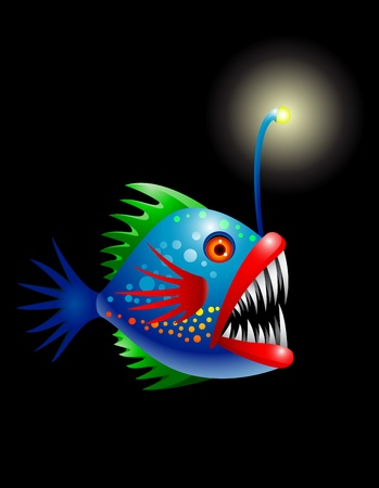 Deep sea fish Stock Vector - 13446451