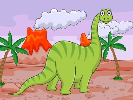 paleontology: Dinosaur cartoon