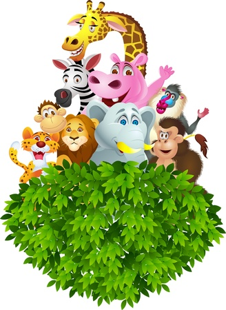 Animal cartoon Stock Vector - 13497245