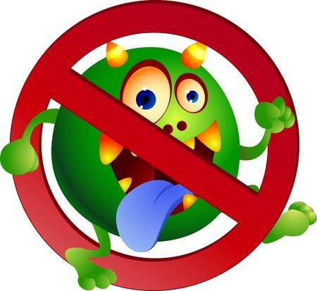 sickness: Detener el virus Vectores
