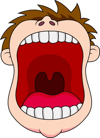 Open mouth Stock Vector - 13494910