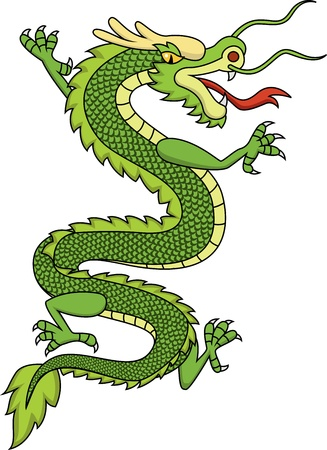 Chinese dragon Stock Vector - 13496598