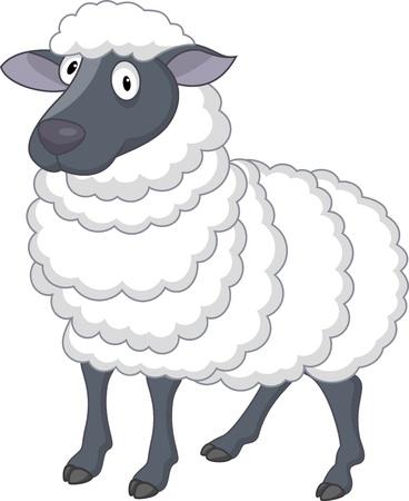 mouton cartoon: Dessin anim� mouton