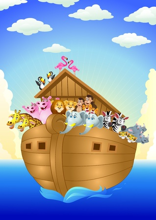 noah ark Stock Vector - 13497127