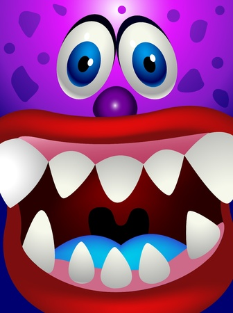Monster cartoon Stock Vector - 13496608