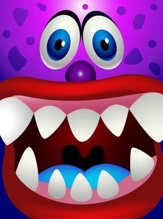 Monster cartoon Stock Vector - 13496608