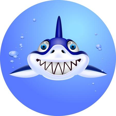 Shark head Vector