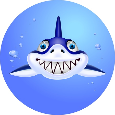 Shark head Stock Vector - 13496846