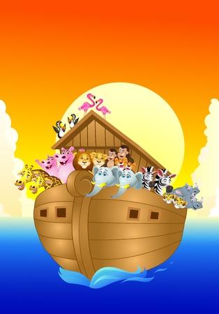 noah ark Stock Vector - 13497125
