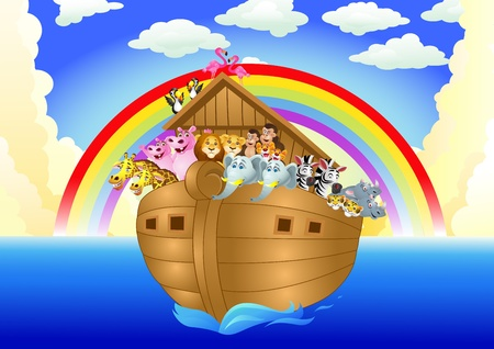 noah ark Stock Vector - 13497130