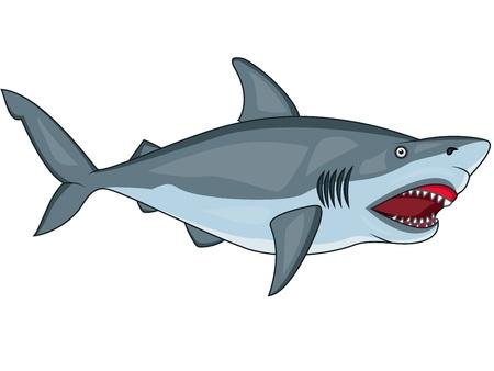 fleischfressende pflanze: b�se Hai Illustration