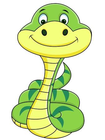serpent noir: dessin anim� serpent